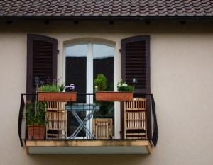klein balkon